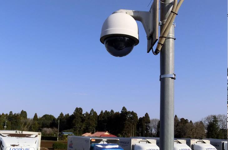 車庫防犯カメラ